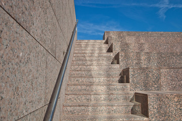 Aufwärts Treppe