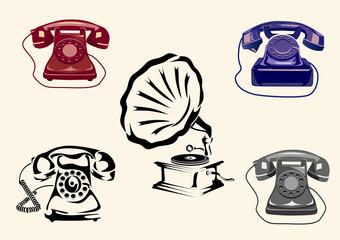 Gramophone, phone