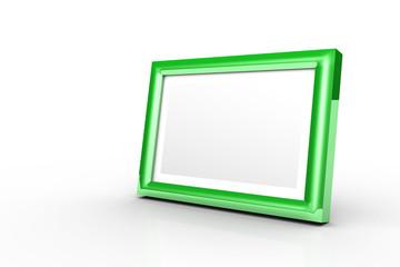3D - Bilderrahmen grün