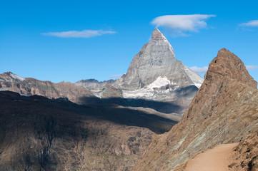 Matterhorn und Riffelhorn