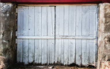 Worn Barn Door Backdrop