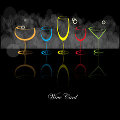 wine card background alcohol drink glass