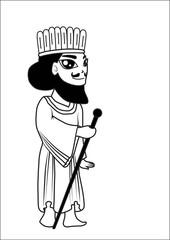 Man cartoon vector