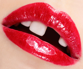 Halloween anti-glamour mouth