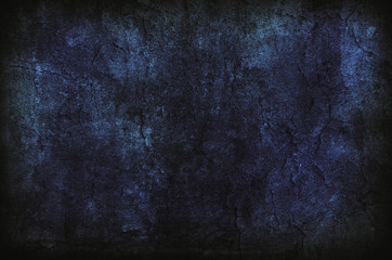 Deep Dark Blue Background