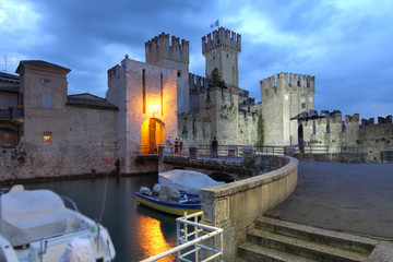 Wall Murals Northern Europe Sirmione, Italy