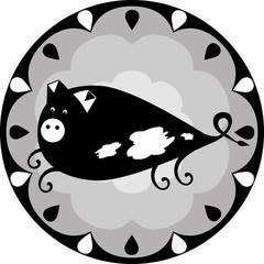 funny Chinese horoscope - pig