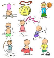 Olympics doodle