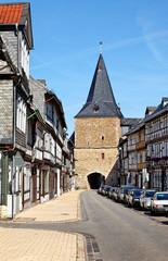 Das Breite Tor in Goslar, Deutschland