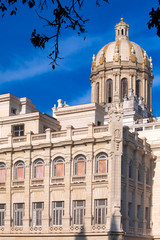 Revolution museum, former President palace, Havana, Cuba