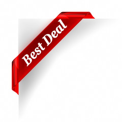 Best Deal  Red Banner