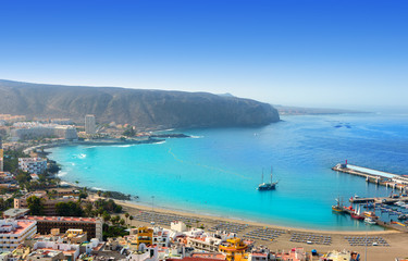Wall Mural - Los Cristianos beach in Arona Tenerife south