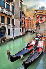 Obraz Piękny miejski krajobraz Wenecji - fototapety do salonu