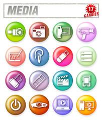 media candies 17
