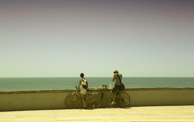bike and sky