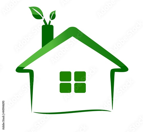 """eco home logo - nature"" Stock image and royalty-free ..."