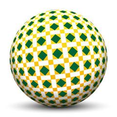 Kugel, Muster, Struktur, Quadrate, Fliesenmuster, 3D, Sphere