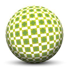 Kugel, Muster, Struktur, Raute, Textur, 3D, Sphere, Geometrie