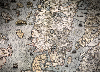 Scandinavia Ancient map