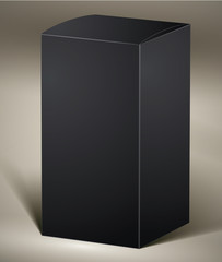 Black pack for design or product visualizing.