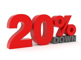 20% down - from my 3d discount collection