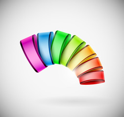 Colorful 3D icon