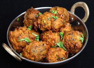 Indian Vegetable Pakora Food