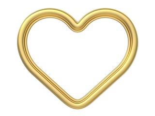 3d frame - heart shape