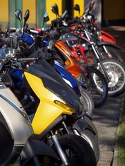 Fototapete - Motorräder