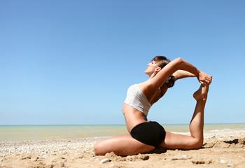 Yoga practice into the wild