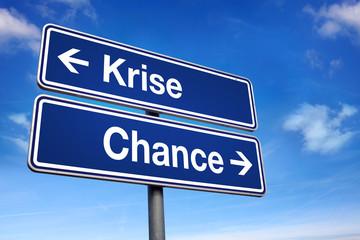 Krise oder Chance