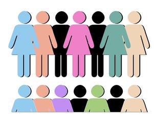Women Shapes Vectors
