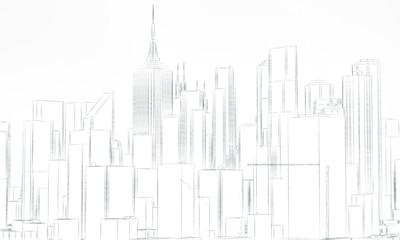downtown sketch