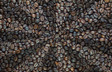 Abstract coffee background and textured