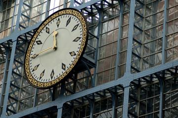 reloj estación londres