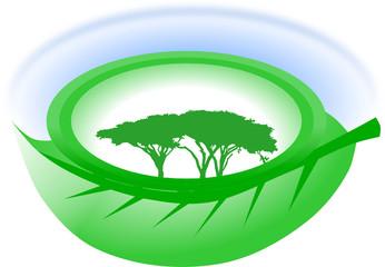 Obraz eko klimat - fototapety do salonu