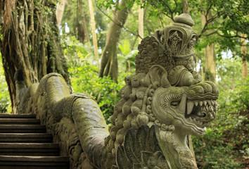Fotobehang Indonesië Ancient stone sculpture