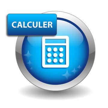 """Bouton Web """"CALCULER"""" (calculatrice en ligne calculette outils)"""