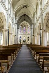 Interno della Chiesa de La Pommeraye - Francia