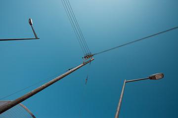Linien in den Straßen von Ciutadella - Menorca