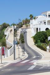 Straße in Cala en Porter - Menorca
