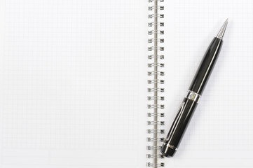 Notebook and pen - notepad