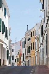 Menorcas Hauptstadt - Mahon - Spanien