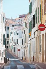 Spanien - Menorca - Gasse von Mahon