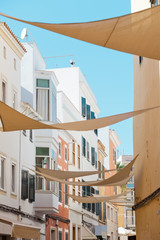 Gassen von Mahon - Menorca - Spanien