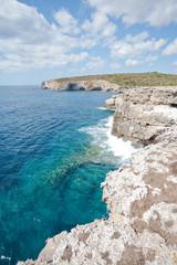 Klippen um Cala en Turqueta - Menorca