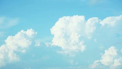 Wall Mural - 積乱雲のタイムラプス