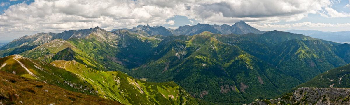 Panorama Tatry