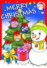 Natale da colorare, copertina