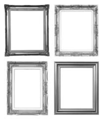 4 silver frame
